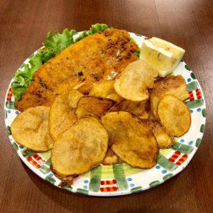 Fish and chips à l'italienne Andiamo Osteria