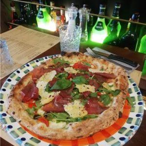 photo pizza boscaiola andiamo osteria