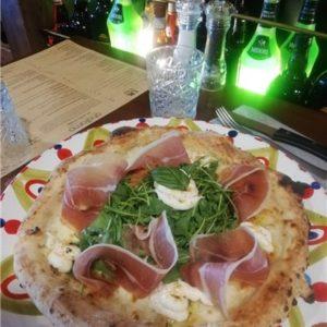 Photo pizza romagnola andiamo osteria